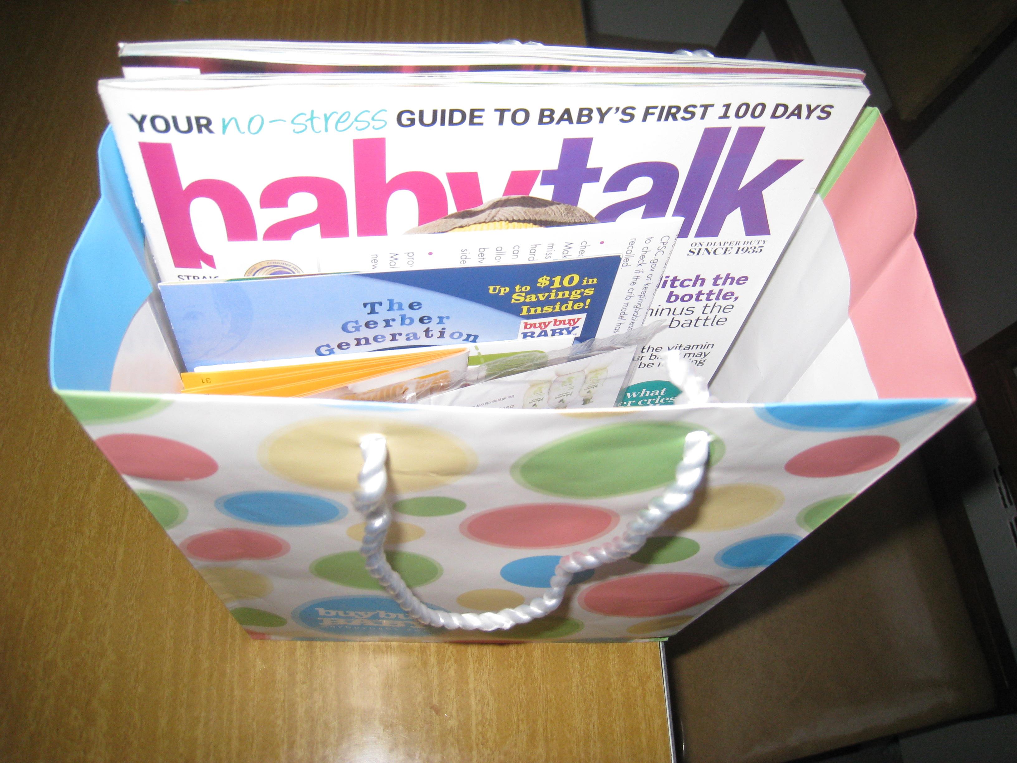 Buybuy Baby   Cute Paper Gift Bag