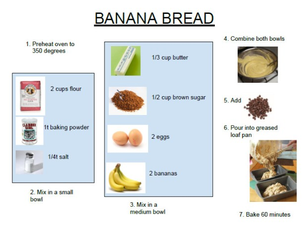 banana bread for kids image