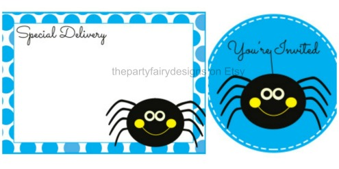 spider label collage watermark