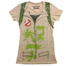 ghostbusters juniors costume tee