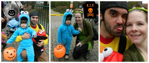 halloween collage