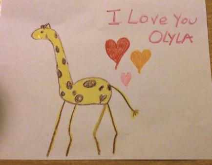 giraffe bedtime terms