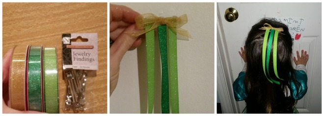 How to DIY your own Frozen Anna Coronation Hair Ribbon