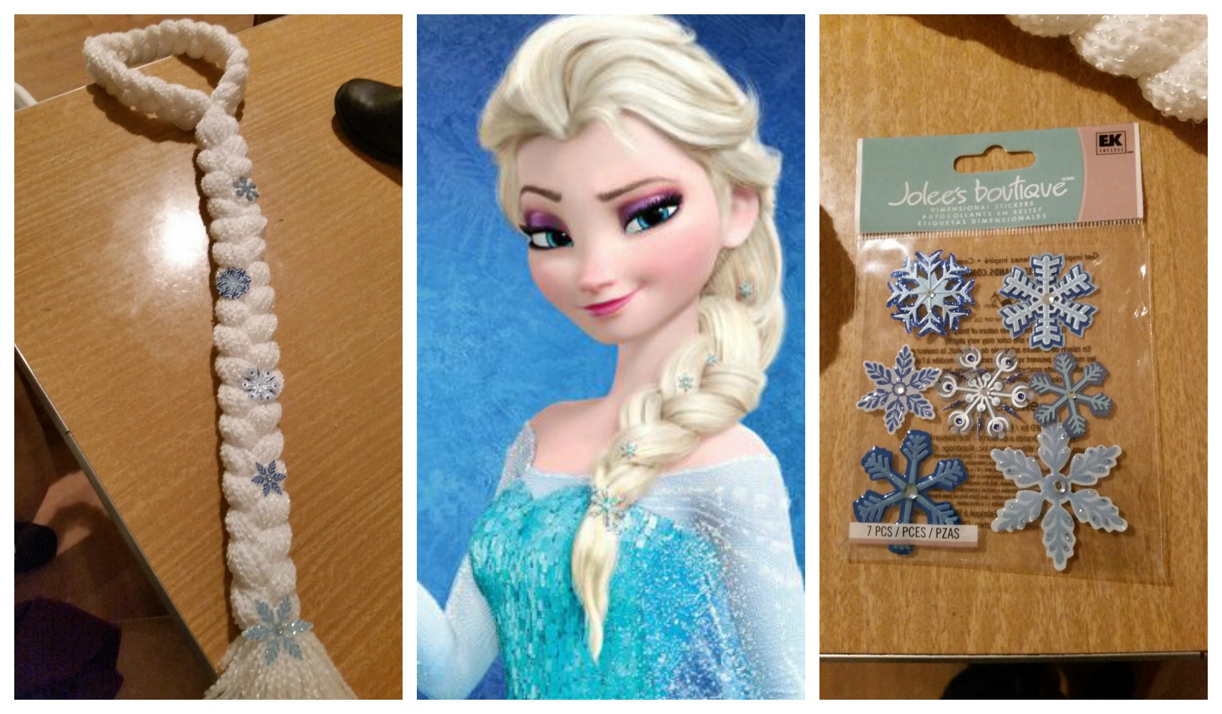 Elsa thinker mommy how to diy your own frozen elsa hair crown braid solutioingenieria Choice Image